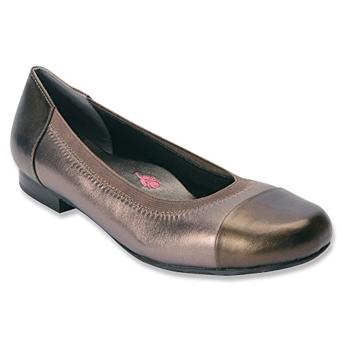 Leather flats Women's Patent Hommerson 8 M Ros Leather Patent Rebecca Navy 5 Leather Pewter wIYqRSRgx