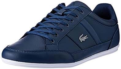 Lacoste Men's Chaymon BL 1 Fashion Shoes, NVY/WHT, 10 US