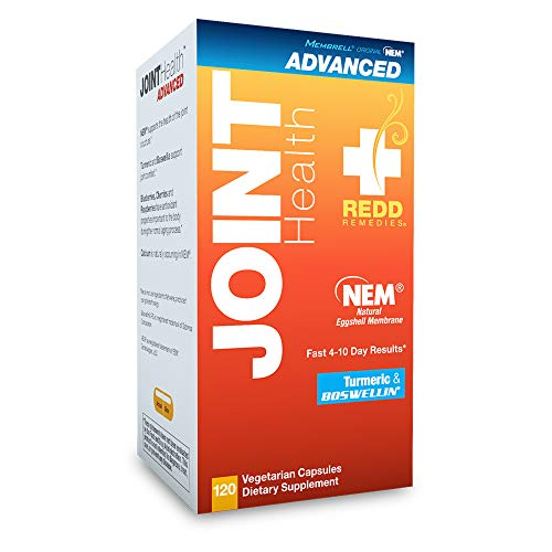 Redd Remedies – Joint Health Advanced, Helps Strengthen Connective Tissue and Cartilage, 120 count
