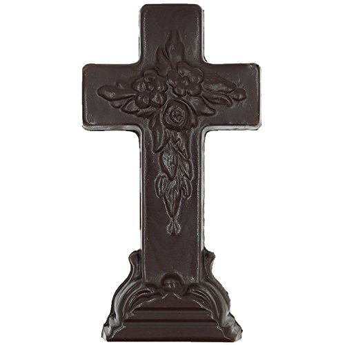 Philadelphia Candies Solid Dark Chocolate Easter Cross, 10 O