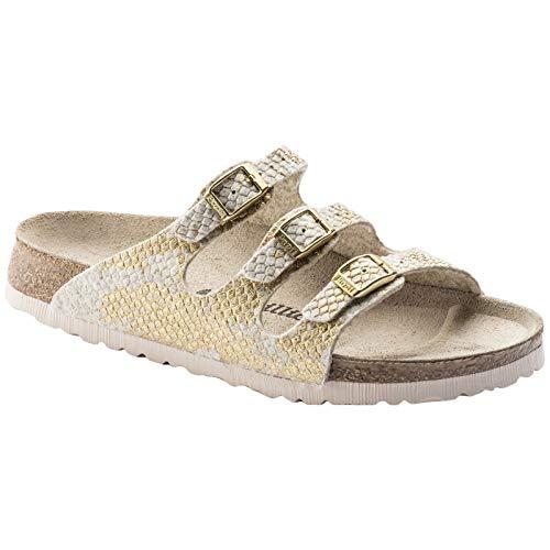 Shiny Donna Papillio Felt Sandals Florida Offwhite wvFIxBSq