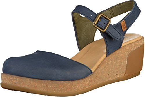 El Naturalista Women's Leaves N5001 Mule Ocean