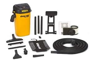 Shop-Vac 3942000 5 Gallon 4.5 Peak HP Wall Mount Wet/Dry Vacuum