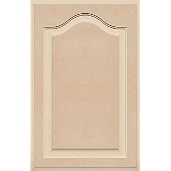 36 High x 24 Wide Unfinished Arch Top Cabinet Door in MDF by Kendor