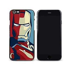 SuperHero Iron Man image Custom iPhone 6 Plus 5.5 Inch Individualized Hard Case