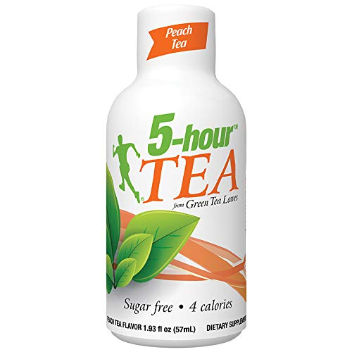 Regular Strength 5-hour ENERGY Shots - Peach Tea - 12 Count (Best Energy Drink For Studying)