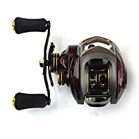 TY 6.3:1, 18 Ball Bearings One Way Clutch BC150 Baitcasting Reel Fishing Reel, Left Handed Carp Fishing Reel