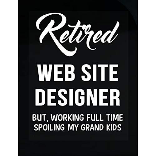 Inked Creatively Retired Web Site Designer Spoiling Grand Kids - Sticker