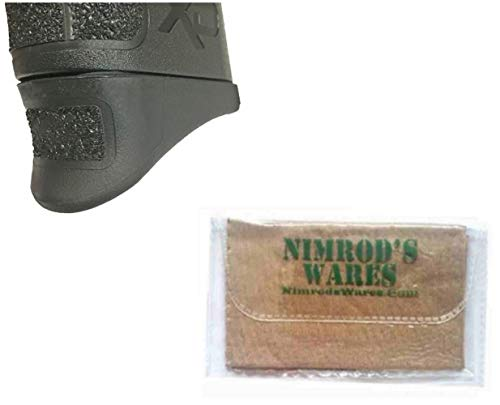- Nimrod's Wares Pearce Grip Springfield XD MOD 2 45 Grip Extension PG-M245 PG-M2.45 Bundle Microfiber Cloth