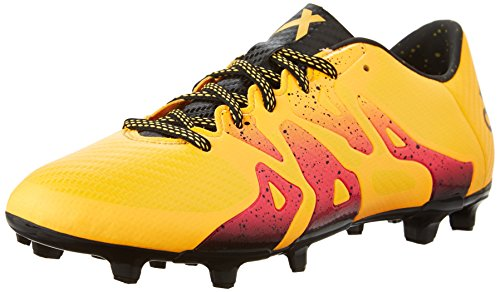 reputable site cb14f 6f077 Galleon - Adidas Performance Men s X 15.3 Cleat Soccer Shoe,Gold Black Shock  Pink,7 M US