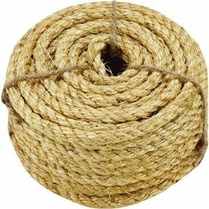 Twisted Sisal Packaged Rope