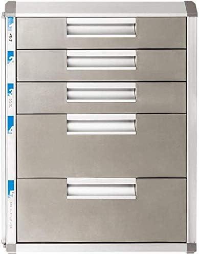 ファイルキャビネット、オフィスや家庭ストレージボックスのために5層を備えたデスクトップ内閣ロック可能なファイルキャビネット