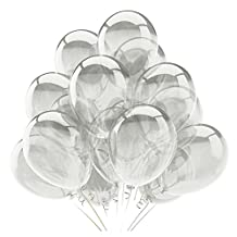 100 PCS Latex Transparent Balloon Thick Big Round Wedding Birthday Decoration Balloons Anniversary Engagement Festival Party Balloon