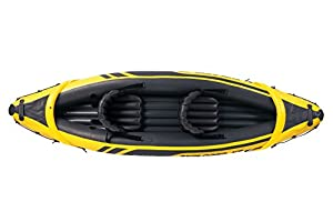 Intex Schlauchboot Aufblasbares Kajak Boot Explorer K2 Phthalates Free Inkl....