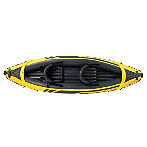 41spATYyRSL. SS300  - Intex Explorer K2 Kayak, 2-Person Inflatable Kayak Set with Aluminum Oars and High Output Air Pump