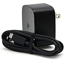 Motorola SPN5864A TurboPower 15 Charger with Original Data/Charging Cable