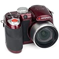 AGFAPHOTO Selecta 16 Burgundy 16 MP Digital Camera with 15x Optical Zoom