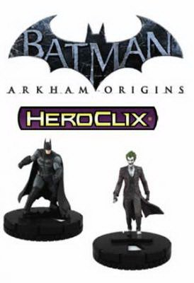 WizKids DC HeroClix: Arkham Origins Gravity Feed (Gravity Feed Display)