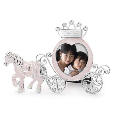 Things Remembered Personalized Princess Carriage Frame with Engraving Included