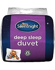 Silentnight Deep Sleep 10.5 Tog Duvet, Microfibre, White, Double