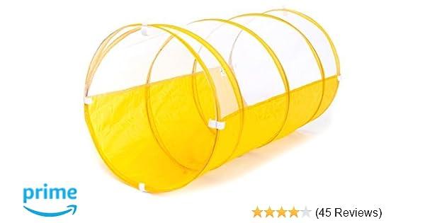 Amazon com: Sunshine Yellow Development Crawl Play Tunnel w/ Safety
