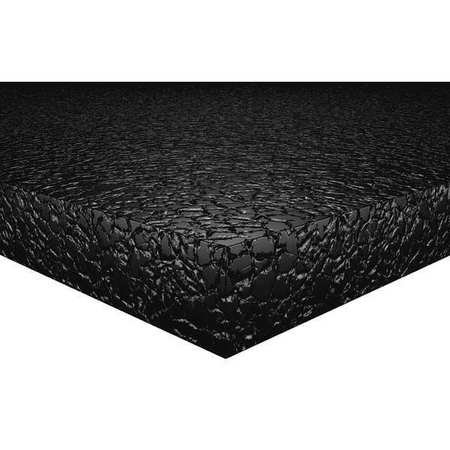 Noise Absorber, Black, 59in.W, 1in.Thick by K-Flex USA
