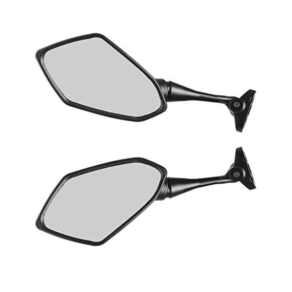 Generic 1 Pair Universal Motorcycle Motorbike Motor Rearview Rear View Side Mirror