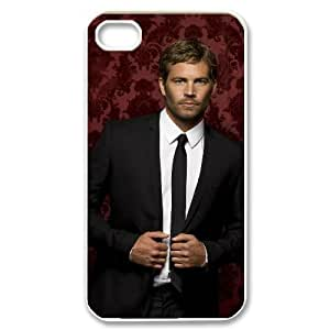 IMISSU Customized Print Paul Walker Pattern Back Case for iPhone 4/4S
