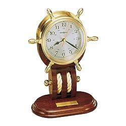 Howard Miller 1 Britannia - Brass Wheel Clock