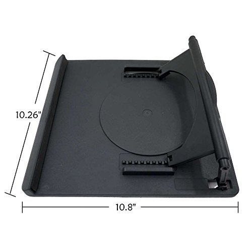 Kenting Multifunction Holder Rotate In 360° Adjusting 9 Angle Points Skidding Prevented Stander for Huion Litup Tracing Light Table LED Light Box- Black