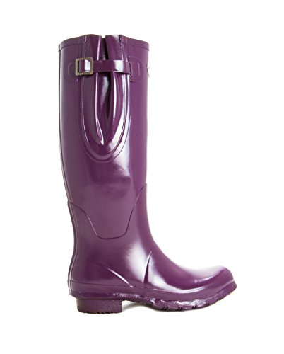 Wide Calandered Fit Wellies Finish Ladies Extra expands To Winning Boots Up Gloss Lined Rubber Mulberry Adjustable Calf Award Rockfish Natural 45cms q4w0zaxPPI