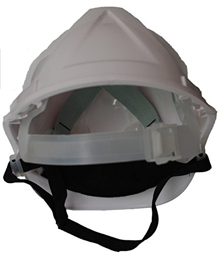Chief Crane Operator Children, Kids Genuine Hard Hat Safety Helmet With Chin Strap One Size Adjustable Suitable for 2-12 Years White Complies With EN397 Safety Standard by Acce Products by ACCE (Image #3)