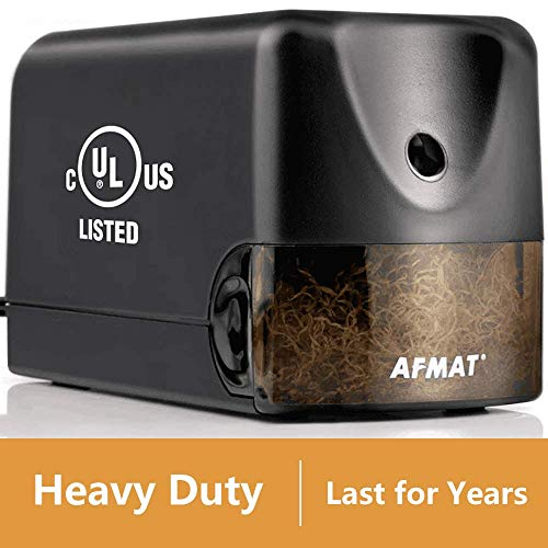 AFMAT Heavy Duty Electric Pencil Sharpener