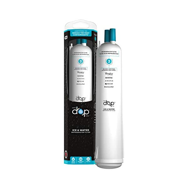 Whirlpool EDR3RXD1 Everydrop Refrigerator Water Filter 3, 1 Pack