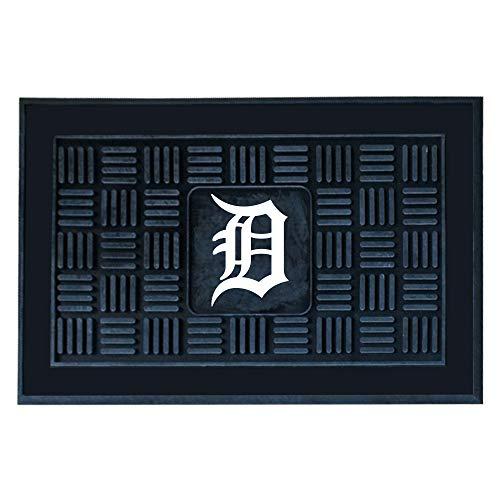 """FANMATS 11298 MLB Detroit Tigers Vinyl Door Mat , 19""""x30"""""""