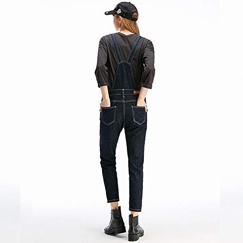 Stil Neuer Jeans neun Taille Femme Lose Jeans hohe Taille MVGUIHZPO Punkte XL Frauen qItFwFd