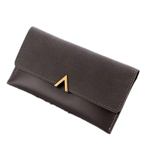 Women Fahion Purse Soft Leather Wallets Purse Long Elegant Female Wallet by WUDEF
