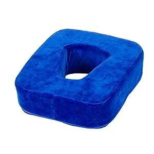 Sport-Tec - Cojín de cara para mesa de masaje (30 x 25 x 7 cm), color azul