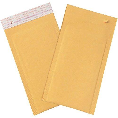 Boxes Fast BFB852SSRTT Self-Seal Bubble Mailers w/Tear Strip #00 5 x 10 Kraft (Pack of 180) [並行輸入品] B07K9SG6J6