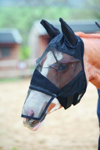 [Shires Full Face Fly Mask] (Equus Horse Costume)