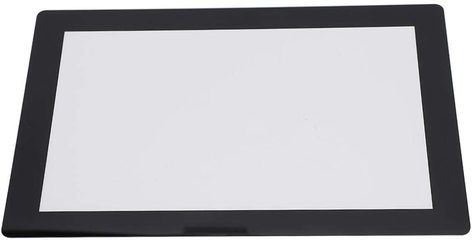 ASHATA Imprimante 3D Film de Protection tremp/é Transparent Imprimante 3D durcie aux UV Kit de Remplacement daccessoires pour /écran LCD 8,9 Pouces