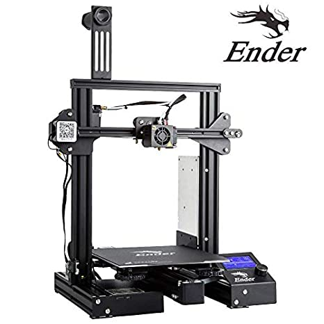 Luxnwatts Creality Ender 3 3 D Printer Aluminum Diy Kit Resume Print 220x220x250mm For Beginners by Ender