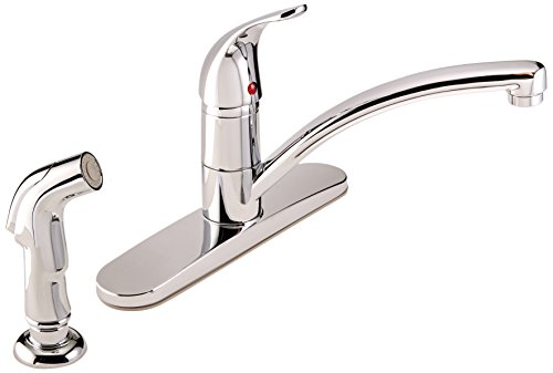 MINTCRAFT 67534-1001 Kitchen Faucet 1 Handle with Spray, 8-Inch, Chrome, 6-Pack