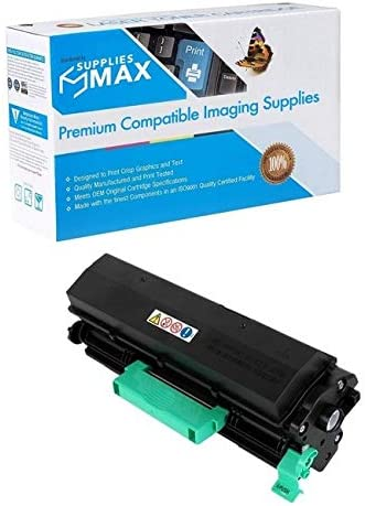 SuppliesMAX Compatible Replacement for Lanier MP-401//402SPF//SP-4520 Black Toner Cartridge 841886 10400 Page Yield Type MP401