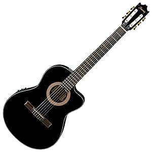 ibanez ga35cebkn nylon string classical acoustic electric guitar black night gloss. Black Bedroom Furniture Sets. Home Design Ideas