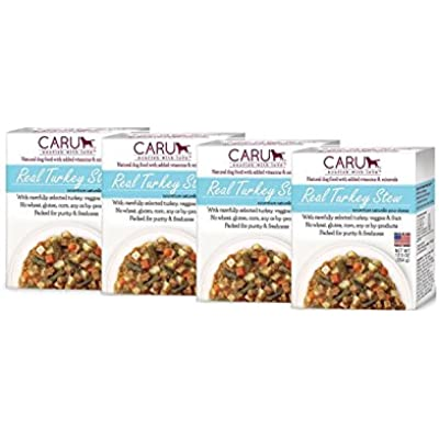 Caru Real Stews Dog Food - 12.5 Oz. (4 Pack) (Turkey)
