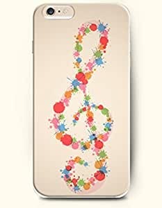 OOFIT iPhone 6 Case ( 4.7 Inches ) - Splash-ink Music Note