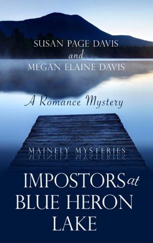 book cover of Impostors at Blue Heron Lake