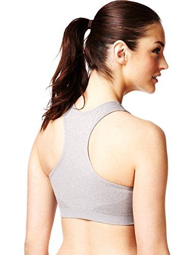 Marks and Spencer - Camisa deportiva - para mujer gris
