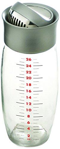 Metrokane Boston Flip-Top Cocktail Shaker, 26 Ounce -